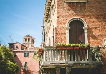 Beautiful Venice Summer Architecture